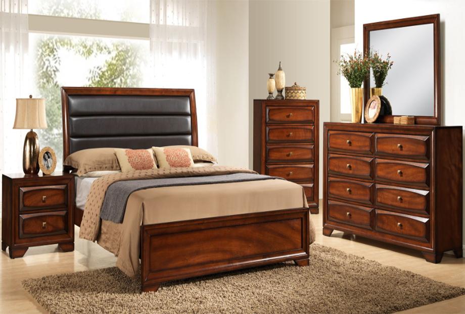 Monte Carlo Antique Oak Bedroom Set | Furniture Distribution Center