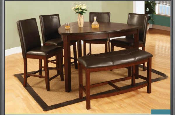 Milano Dining Set with 4 chairs