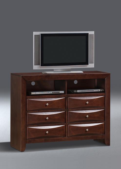 0016A TV Dresser-Ex05-New Merlot