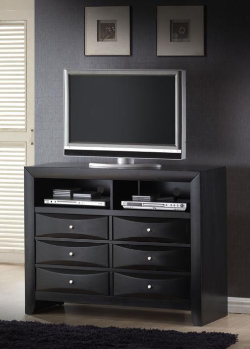 Emily Black Tv Dresser