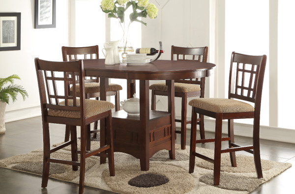 Randolph Counter Height Table with 4 chairs