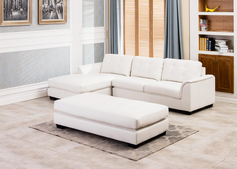 White Sectional Living Room Living Room Sets Furniture Distribution Center