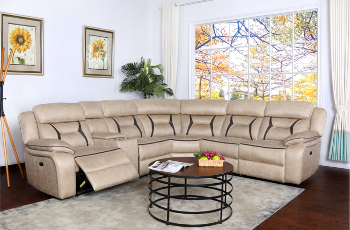 Tuscany Reclining Sectional Sofa New Furniture